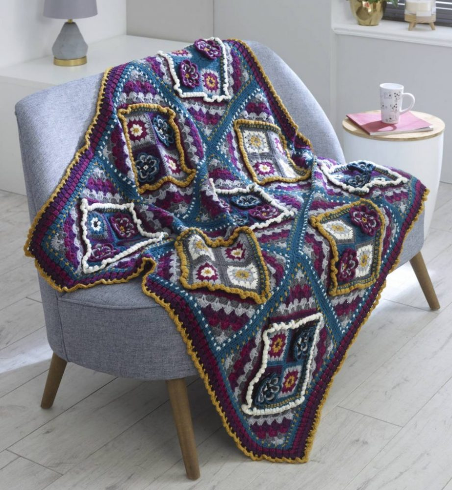 Design your own blanket with Crochet Now, King Cole & Deramores! - image King-Cole-CAL-Flowers-In-The-Window-Blanket-e1574931519784-944x1024 on https://knitting-crocheting-yarn.com